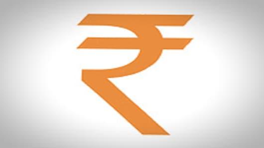 India's Rupee symbol.