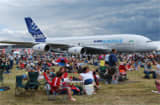 The final day at the Farnborough Airshow and day two of the public event days.