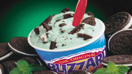 Dairy Queen's 'Blizzard'