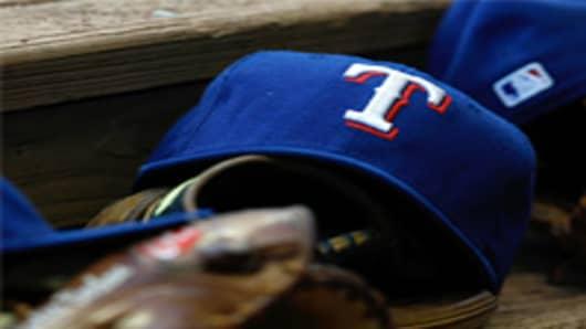 Texas Rangers ball hat