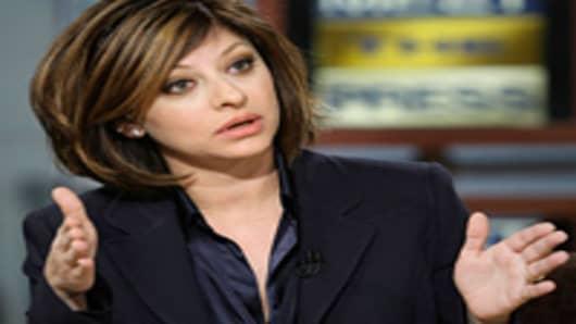 Maria Bartiromo on NBC's Meet The Press