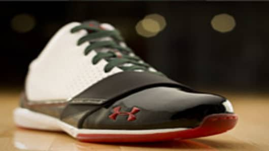 Under Armour Micro G shoe.