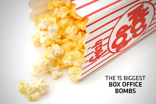 "What makes a movie a box office  ""bomb ""?  Just losing money doesn't make it qualify. It's the amount of loss from the production costs to ticket receipts that makes the difference.  For example., 2006's Zyzzyx Road took in a shocking thirty (30) dollars at the box office, but since it cost only $1 million to make, it d didn't lose enough money to make the list.  And the 2000 John Travolta vehicle Battlefield Earth made back less than half of its $73 million budget ,but losing a mere $43 million"