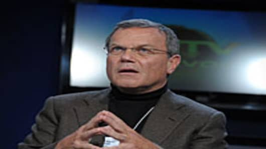 Sir Martin Sorrell, chief executive of British advertising agency WPP Group.