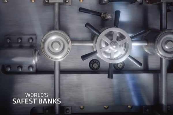 Source: Global Finance: World's 50 Safest Banks || Photo: Nick Vedros & Assoc. | Stone | Getty Images