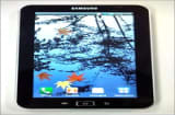 The Samsung Galaxy Tab