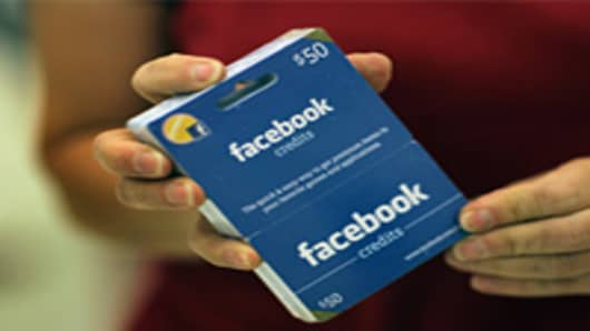 Facebook And Target Begin Sale Of Facebook Gift Cards
