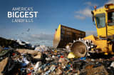 With more than 250 million tons of trash created in the United States each year, the garbage business in America is beyond big. The $52-billion-a-year industry is dominated by companies like Waste Management and Republic Services. Gone are the days of the town dump. Today&#039;s landfills are technological marvels and have even become a reliable source for alternative energy as landfill gases are tapped and sold to businesses and municipalities.Here, we&#039;ve compiled a list of the 10 largest landfills