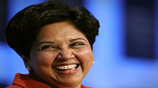 Pepsico's Chairman and CEO Indra Nooyi
