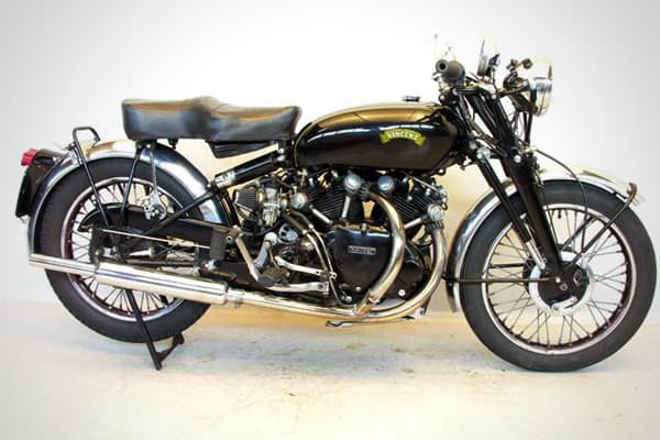 Rare models of these hand-made British motorcycles can fetch a fine price. In the mid 1980s, motorcycle broker Somer Hooker bought one for $7,000 and sold it a year later for $27,000.