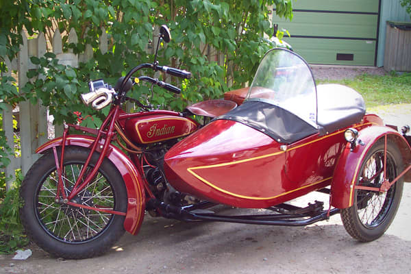 Considered one of the classic American motorcycle brands, a bike made by Indian, especial from the 1920s, can fetch anywhere from $25,000 to $40,000. One from 1953 sold at auction by Bonhams auction house for $60,000.