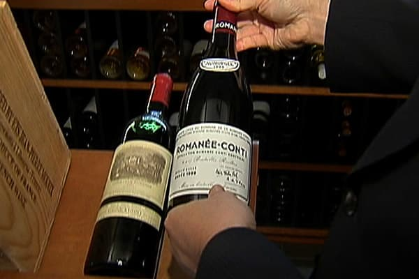 This bottle was auctioned off by Acker, Merrall & Condit Co. in New York City on October 28, 2009 for $7,865. Only about 6,000 bottles of the legendary burgundy are produced each year.