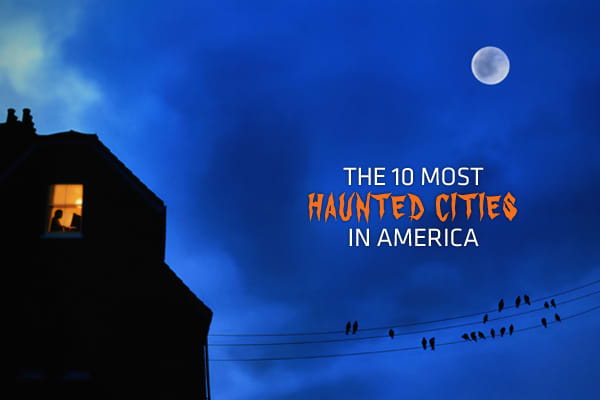 "You've heard of some houses that are purported to be haunted but did you know that some cities are more prone to visitors from the past? There are two main reasons why some cities may be more haunted than others, said Andrew Nichols, the executive director of the American Institute for Parapsychology. First, if it's an old city with a tremendous amount of history – a lot of southern cities fit this category – it may have a lot of, ahem, spirit. ""Locations and objects have memories, just like peo"