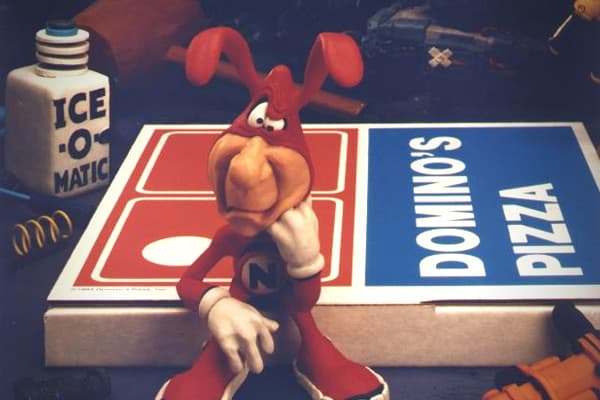 "Like sports teams, fast food establishments have always had mascots. Domino's Pizza created its own with an animated character known as the Noid. In television spots, this red-suited fiend would try to sabotage the pizza chain's products, and though his dastardly plots were always foiled, the viewing audience was sternly advised to ""Avoid the Noid"" nonetheless. One person who was not amused by the character was a Georgia man named Kenneth Lamar Noid. In 1989, mistakenly believing that the commer"