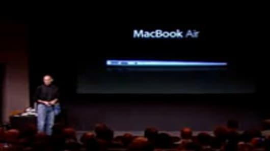The Macbook Air.