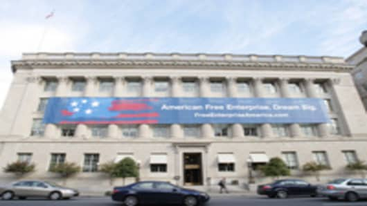The U.S. Chamber of Commerce's  headquarters.