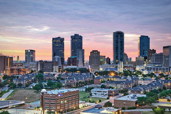 """Fort Worth is like the Rodney Dangerfield of the Dallas-Fort Worth area – It gets no respect!"" Sperling quipped. But those who live in know the secret: It's close enough to Dallas that you get all of the amenities of a world-class city, from shopping to cultural events, but it's cheaper. The average home price is about $119,300, well below the national average of $171,700. Plus, the cost of living is nearly 14 percent cheaper than the national average. It has a growing arts & culture scene, inc"
