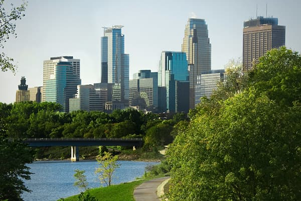"""Minneapolis is probably one of the most progressive, greenest cities and the folks are really polite in that Midwestern way,"" Sperling said. also known as the ""Twin Cities,"" and the southern suburb of Bloomington, have a very low crime rate, a lot of colleges and arts and cultural institutions, all of which add to a great quality of life. Minneapolis is the third largest theater market in the U.S., behind New York and Chicago, Bloomington is home to the famous Mall of America, the largest mall"