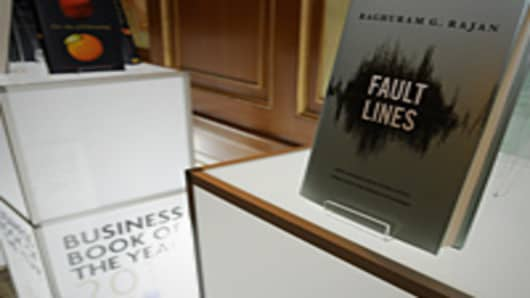 "Winning Book ""Fault Lines"" by Raghuram Rajan"
