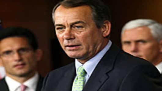 U.S. Minority Leader Rep. John Boehner