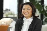 Zhang Xin, CEO of SOHO China, Beijing&#039;s largest real estate developer.