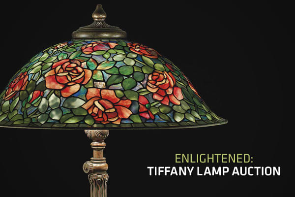 When is a lamp worth a fortune? When it's made by Tiffany Studios. The design studio, started by Louis Comfort Tiffany in the 1880s, made colorful glass-leaded lamps until the 1930s, but it wasn't until the 1960s that the value of a Tiffany lamp increased tremendously as collectors bought up the fragile lamps that managed to survive in one piece. If you're looking to start a collection or cash in on a family heirloom, experts say that those that feature a floral design are a solid investment, as