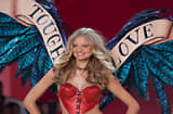 Model Magdalena Frackowiak walks down the runway at the 2010 Victoria's Secret Fashion Show at New York City's Lexington Armory on Nov. 10, 2010.