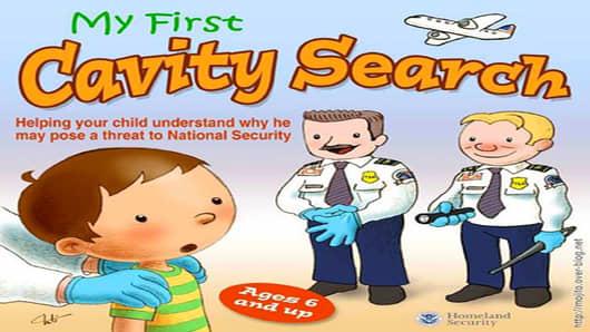 cavity search kids book