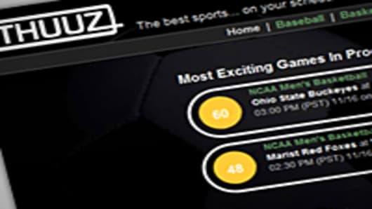 THUUZ Website
