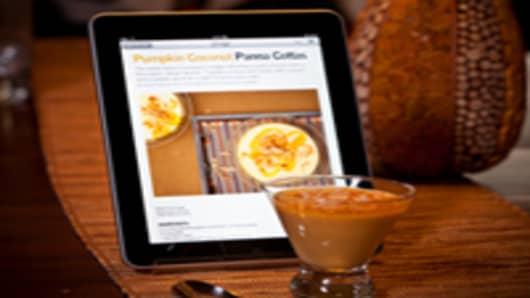iPad Gourmet App
