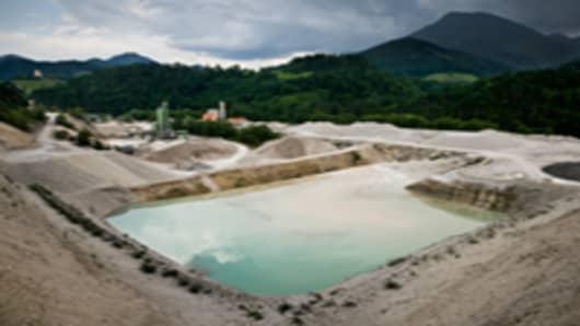 Quarry site