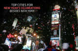 Times Square in New York City is synonymous with New Year celebrations. But here&rsquo;s a little secret that&rsquo;s not so secret: it&rsquo;s not very enjoyable. It&rsquo;s unbelievably crowded, it&rsquo;s cold, it&rsquo;s expensive, good luck finding a bathroom, and even after enduring all of these indignities, you still might not have a view of the ball drop. So with the obvious city aside, here are seven additional celebration destinations for New Year&rsquo;s fun-seekers.