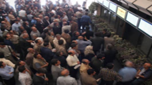 Tehran Stock Exchange.