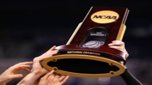 NCAA Basketball Trophy