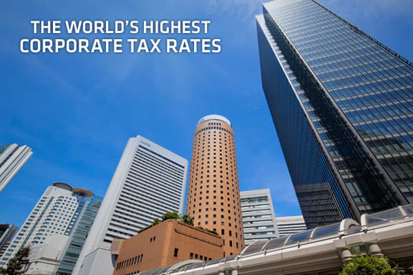 "With both economic growth and corporate profits under extreme pressure these days, corporate tax rates are under greater scrutiny around the globe. The (OECD) has tracked corporate tax data from its member countries every year since 1981. The tax rates listed here are ""combined corporate income tax rates,"" a number that includes both national and local levies. It should be noted that the OECD only compiles corporate tax data on its which do not include the BRIC nations, as these countries are no"