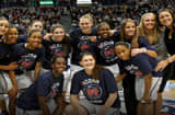 NCAA champion University of Connecticut women's basketball team