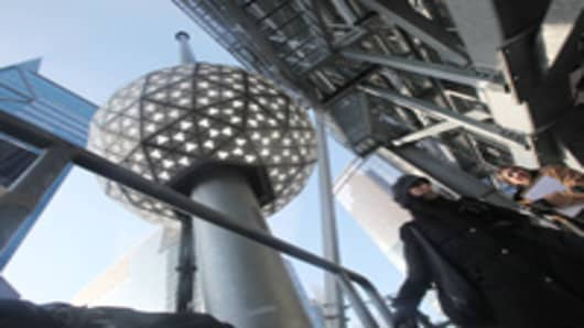 The Times Square New Year's Eve Ball.