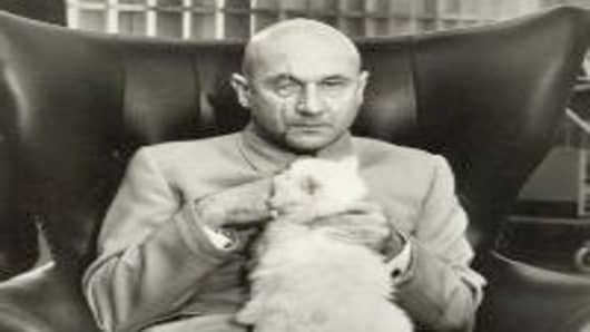 Ernst Stavro Blofeld from You Only Live Twice.
