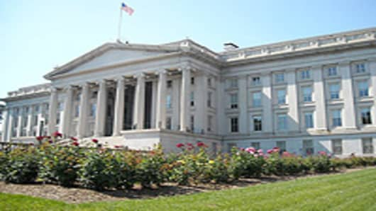 U.S. Department of Treasury headquarters in Washington, D.C.