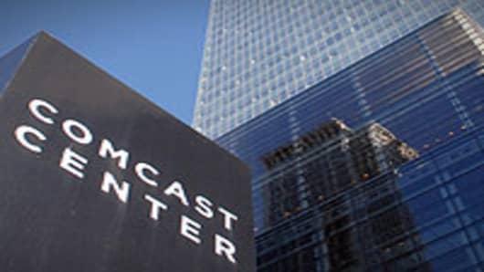 Comcast corporate headquarters in Philadelphia, Pennsylvania.
