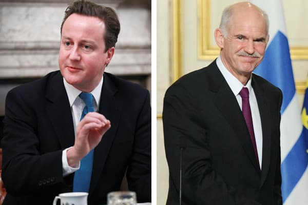 David Cameron, Prime Minister of the UK George Papandreou, Prime Minister of Greece For those in politics and government, Davos has been a celebrated stage for decades, serving newcomers and veterans alike. For Cameron, like others before him, the meeting offers a global debut for the UK's first Conservative Party Prime Minister of this century. For Papandreou, it's a easy opportunity to show leadership, put a human (and brave) face on the Greek drama and talk to private investors, NGO chiefs an