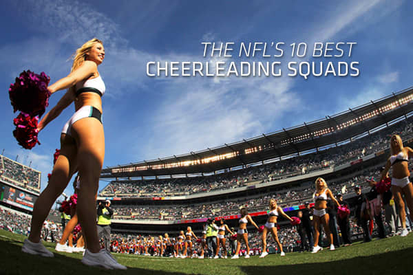 This year's Super Bowl features the Green Bay Packers against the Pittsburgh Steelers. But there will be no cheerleaders. The Packers and the Steelers are just two of six teams (along with the Cleveland Browns, New York Giants, Detroit Lions and Chicago Bears) that don't field a pom-pom waving squad. Although their seasons are over, cheerleaders are an important part of the NFL offseason for the 26 teams that do have them. Why? Because, when executed well, they provide endless clicks for Web sur