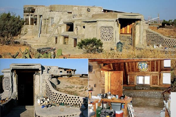 Location: Columbus, New Mexico Price: $55,000 Bed: 1 Bath:1 Sq. ft: 200 Claim to Fame: A holdover from hippie culture in a 1970s intentional community About: Earthship homes, though a 70s throwback, are still found in all 50 states and internationally, including many in the Southwest like this one. These dwellings were green before most people talked about carbon footprints, constructed from indigenous and recycled materials like tires and cans. They function off the normal grid by catching rain