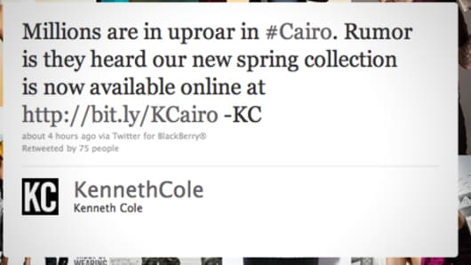 Kenneth Cole on Twitter