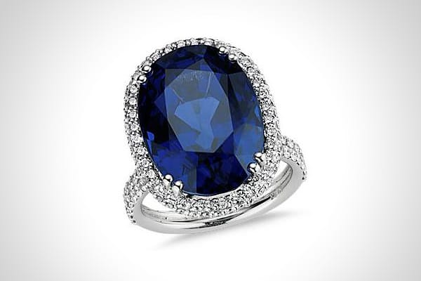 "Price: $130,000 Spending on jewelry this Valentine's Day is expected to rise to $3.5 billion, up from an estimated $3.0 billion last year. Valentine's Day is a popular time to pop the question and this sapphire and diamond would definitely make it hard to say ""no."" It showcases a 20.30 carat oval sapphire and more than 140 pave set round diamonds, outdoing even the soon-to-be Princess Kate Middleton's engagement ring."