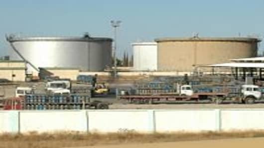 Oil and gas fields in Tripoli, Libya