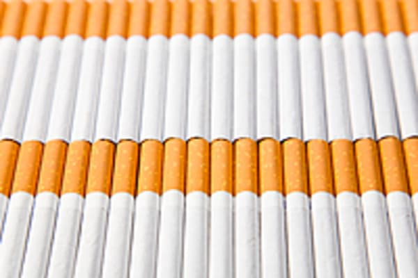 Cigarettes Next price per pack in UK