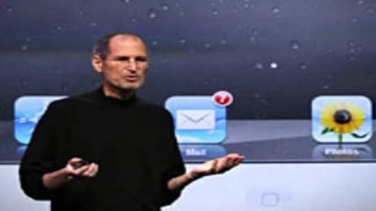 Apple CEO Steve Jobs speaks during an Apple Special event to unveil the new iPad 2 at the Yerba Buena Center for the Arts on March 2, 2011 in San Francisco, California