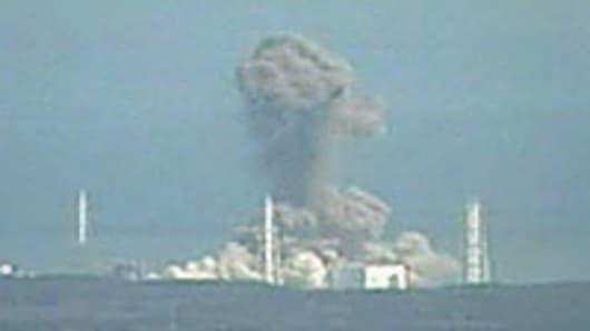 Fukishima nuclear reactor explosion.