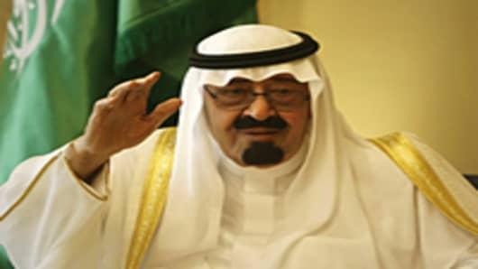 Saudi King Abdullah bin Abdel Aziz